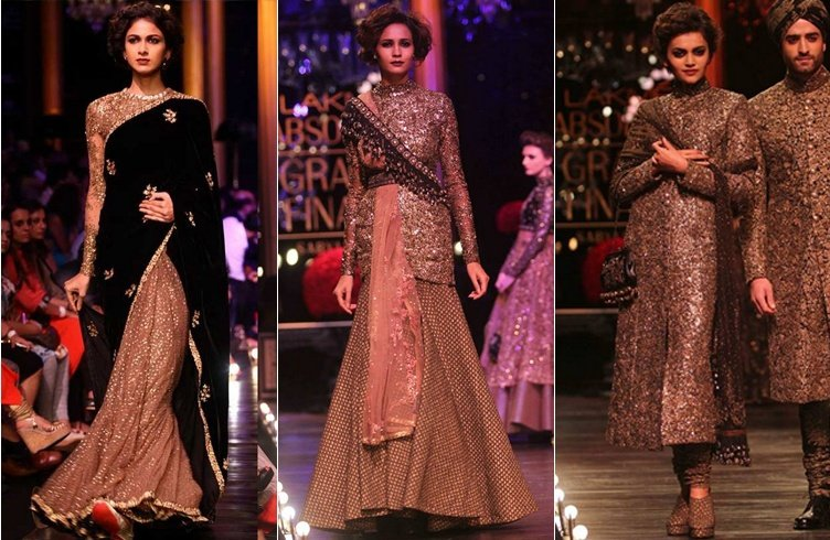 Sabyasachi Mukherjee Collection At LFW