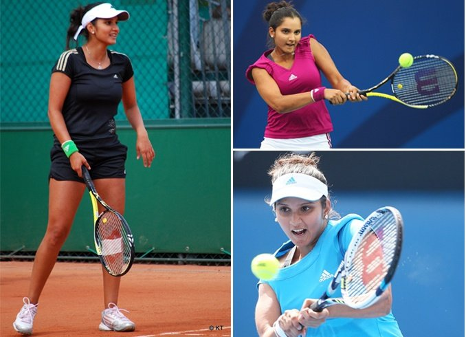 Sania Mirza At The Court