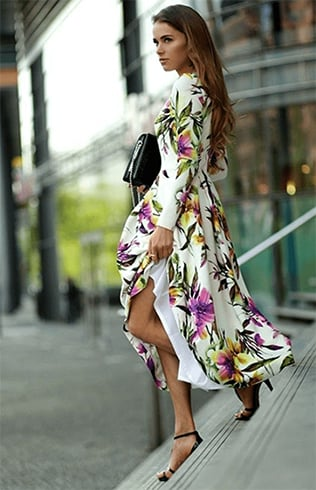Tropical Printed Summer Dresses