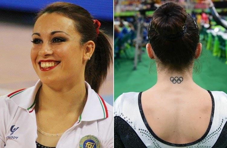 Vanessa Ferrari Tattoo