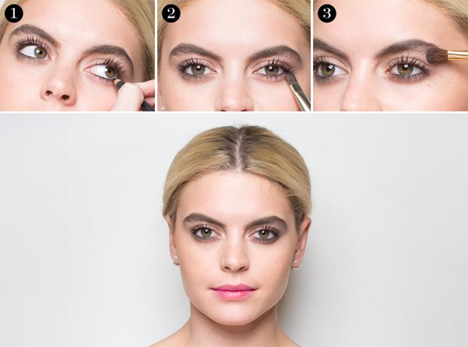 Ways to create reverse smokey eye