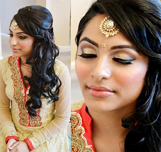 Pleasing 30 Indian Wedding Hairstyles For Picture Perfect Brides Short Hairstyles Gunalazisus