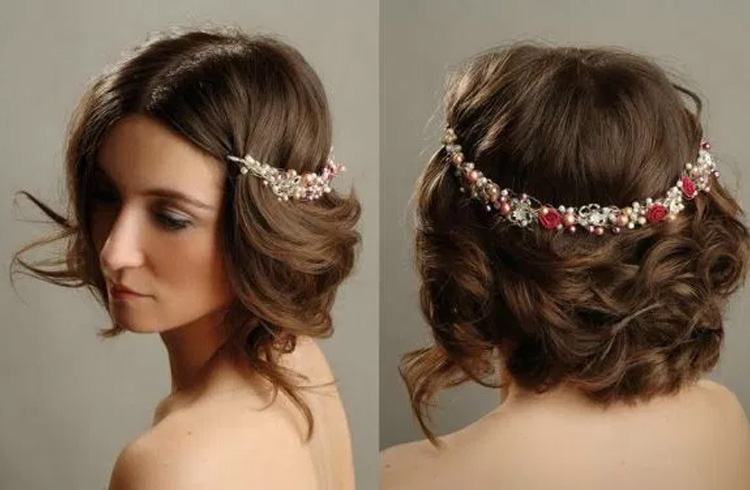 Magnificent 30 Indian Wedding Hairstyles For Picture Perfect Brides Short Hairstyles Gunalazisus