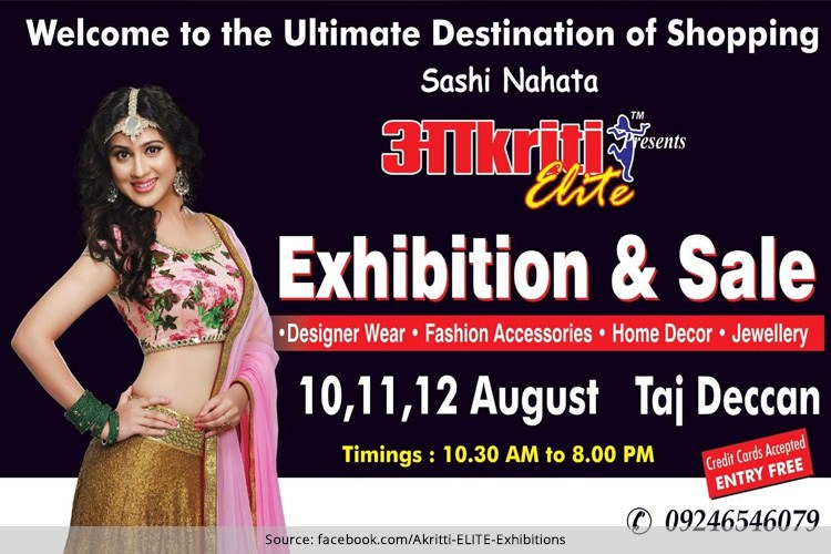Akritti Elite Exhibition August Sale 2016