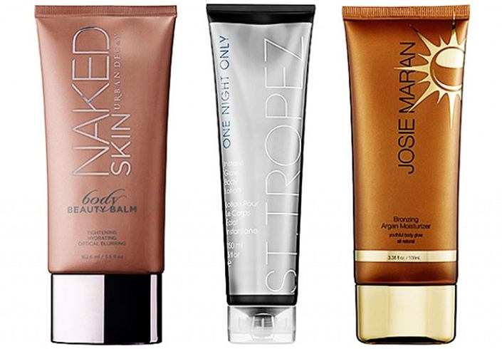 best body shimmer lotions