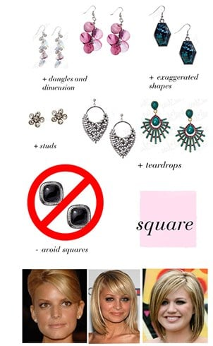 Best Earrings For Square Face