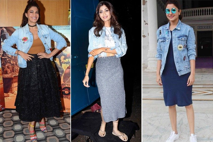 Bollywood Celebs Denim Jackets Look