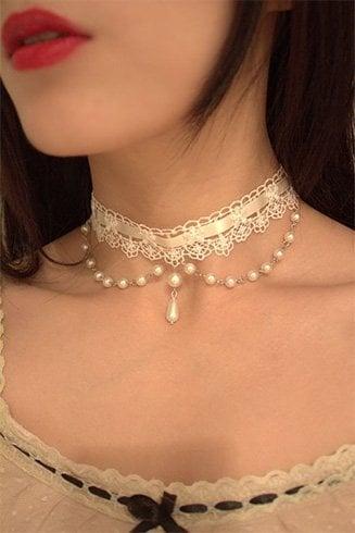 Bridal Choker Necklaces