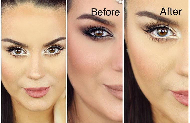 how to draw eyeliner for small eyes