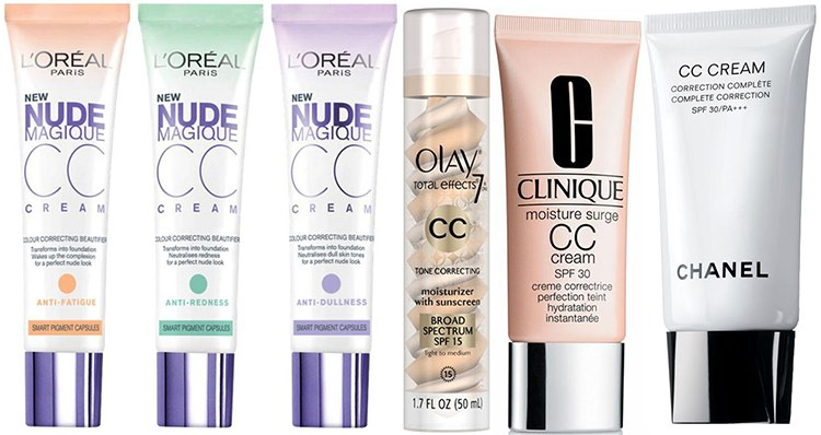 cc cream for different skin types