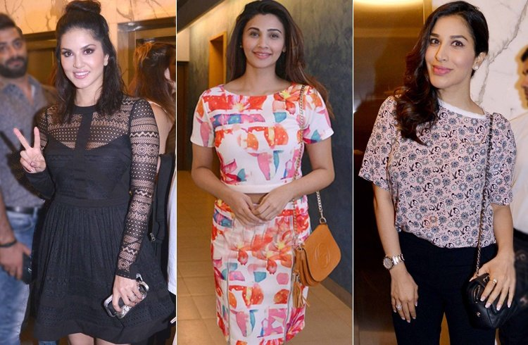 Celebs At Dishoom Screening