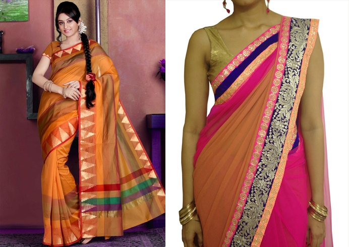 Clothing Items Made From Old Sarees