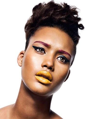 Color Blocking Makeup Trend