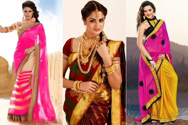 Different Types Of Saree Materials