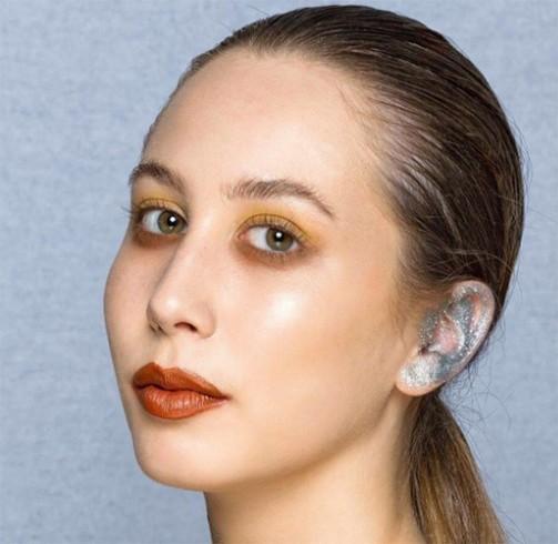 Ear Makeup To Flaunt