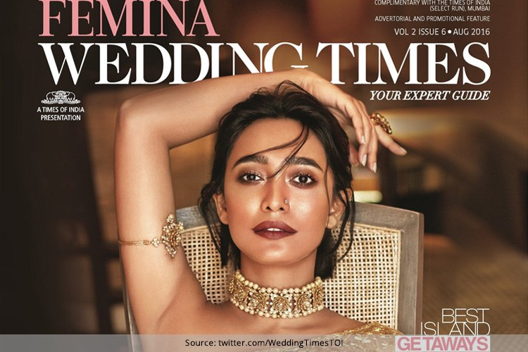 Sayani Gupta on Femina Wedding Times August 2016