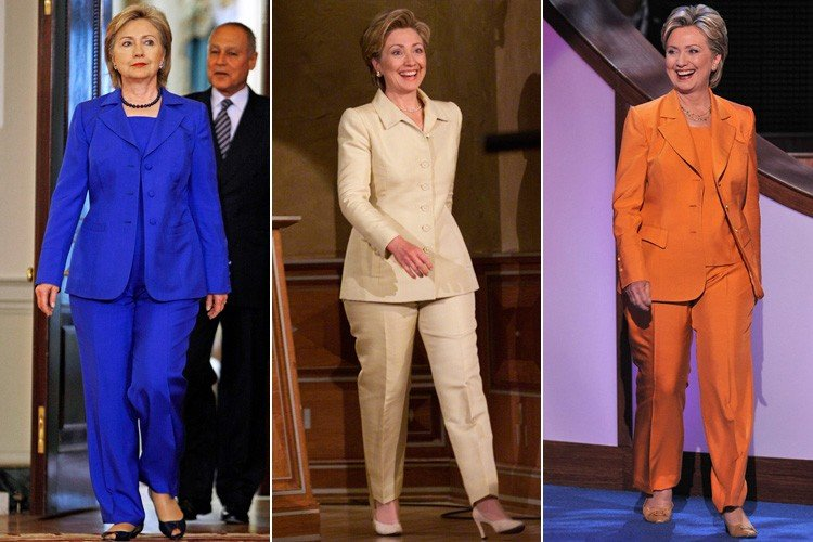 Hillary Clinton Pant Suits