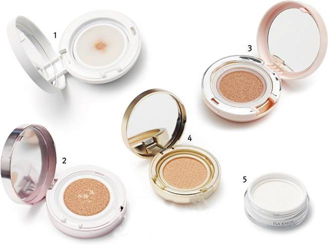 How To Apply Cushion Compact