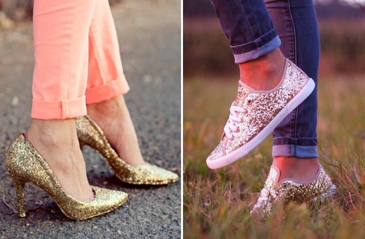 Glitter Footwear