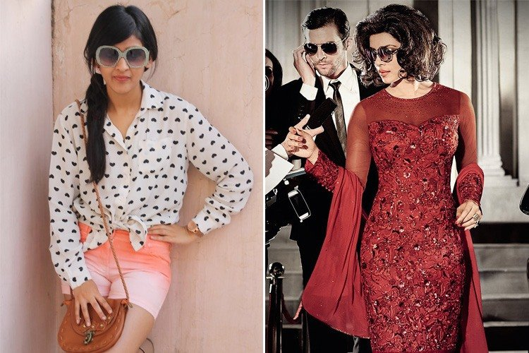Retro look bollywood style dresses