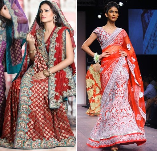 How To Wear Lehenga Dupatta In Different Styles