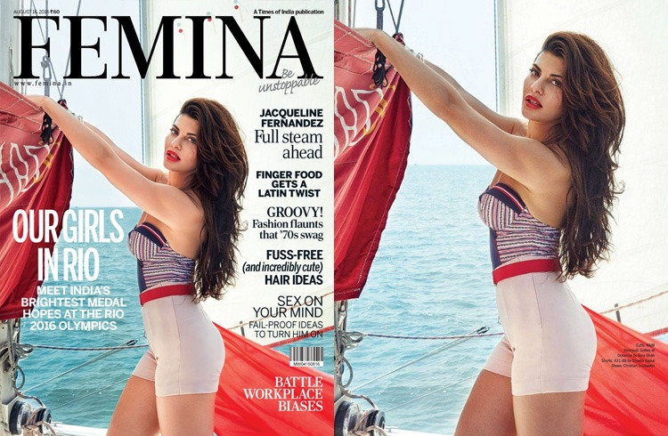 Jacqueline Fernandez On Femina August 2016