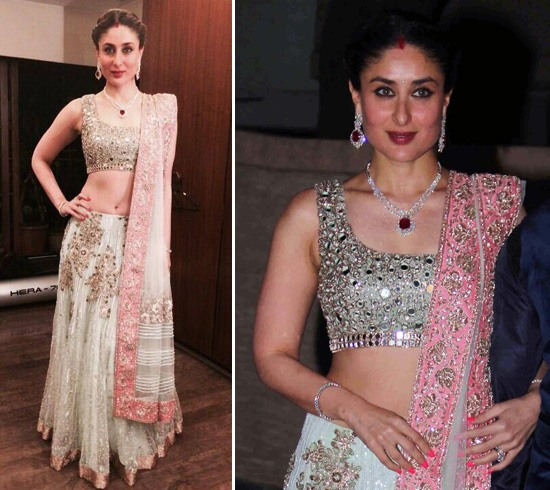 Kareena Kapoor Wedding Lehenga