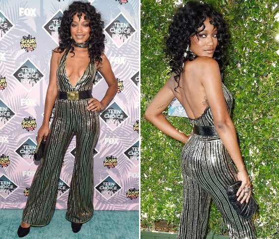 Keke Palmer At Teen Choice Awards 2016