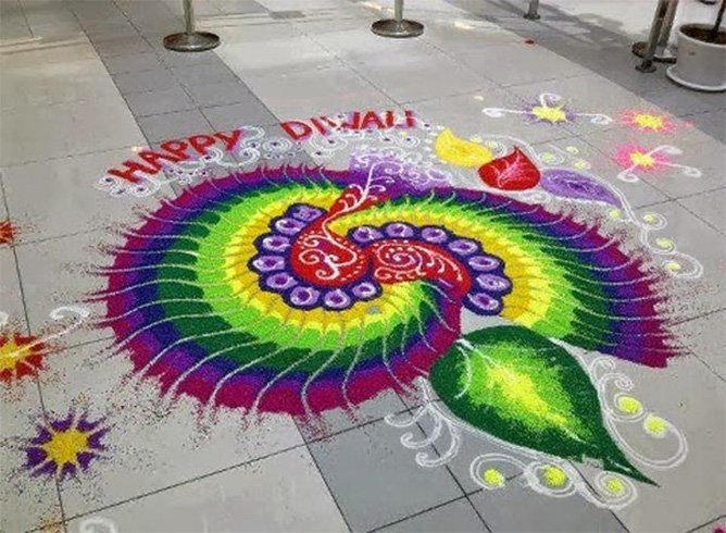 Latest Rangoli Designs Images