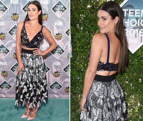 Lea Michele At Teen Choice Awards 2016