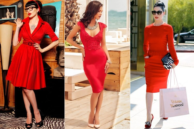 Red Dress Outfit Ideas