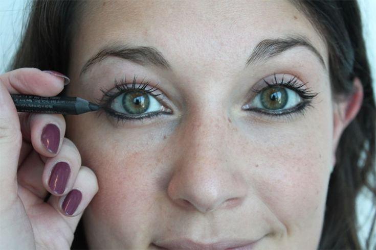 reverse smokey eye tutorial