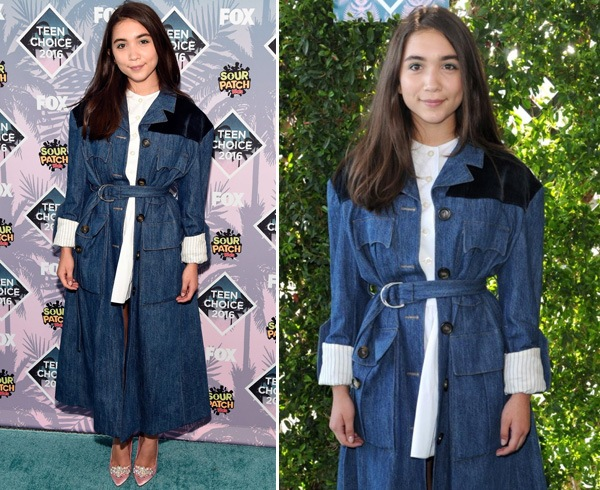 Rowan Blanchard At 2016 Teen Choice Awards