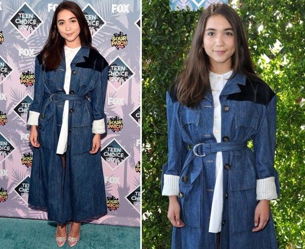 Rowan Blanchard At 2016 Teen Choice Awards