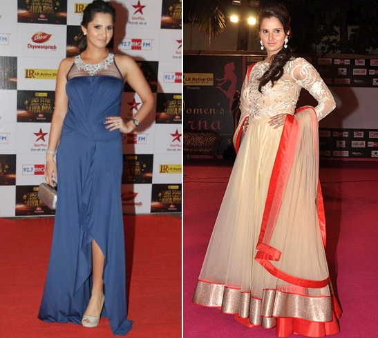 Sania Mirza On Red Carpet