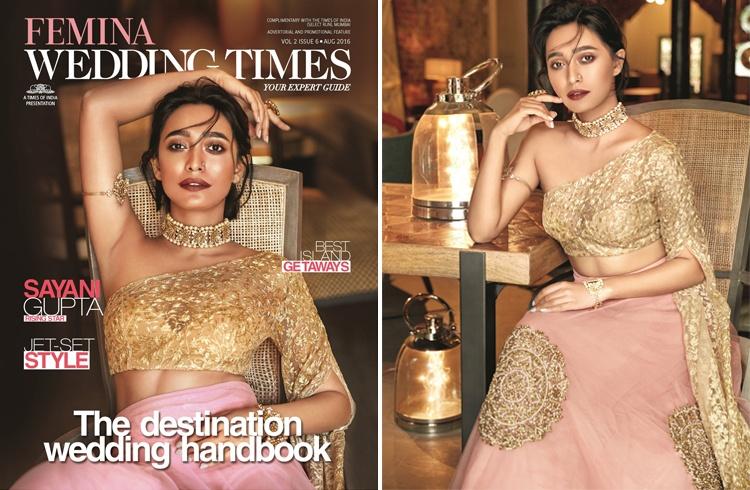 Sayani Gupta on Femina Wedding Times August 2016 Magazine