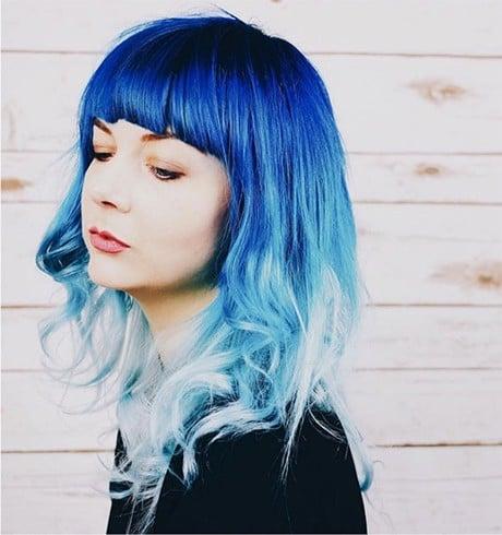Shades Of Denim Hair Color