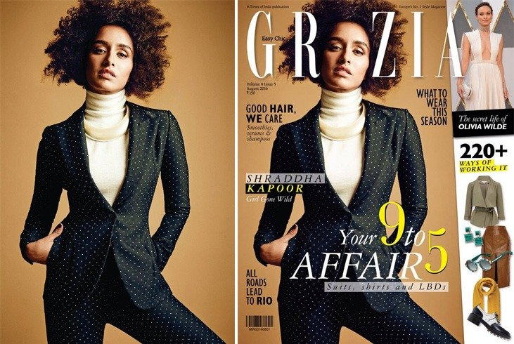 Shraddha Kapoor On Grazia India August 2016