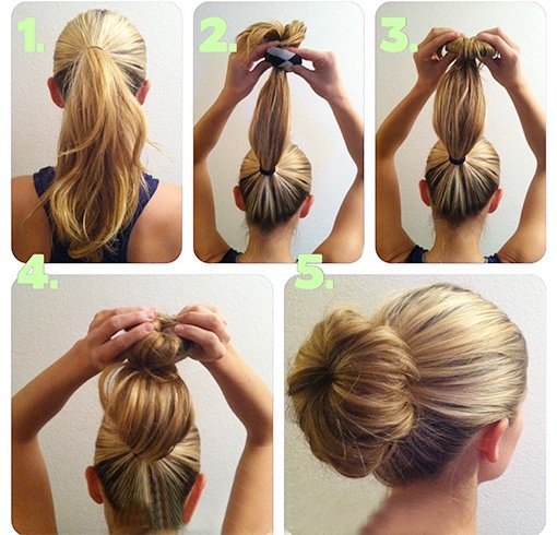 What Is The Cute Sock Bun And How Do You Wear It To College