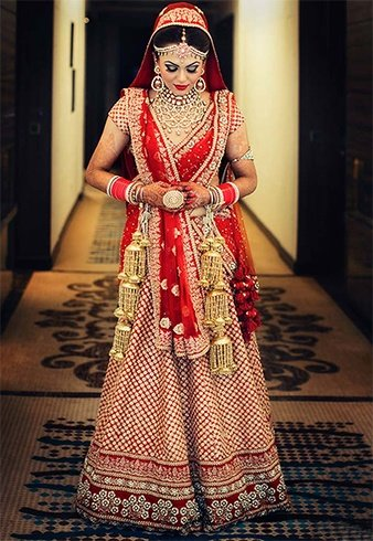 Ways To Drape Lehenga Choli