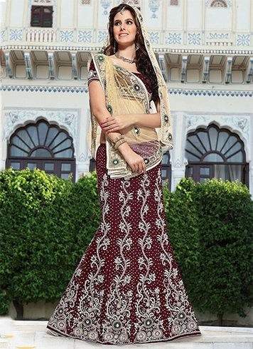 Ways To Drape Lehenga Voni