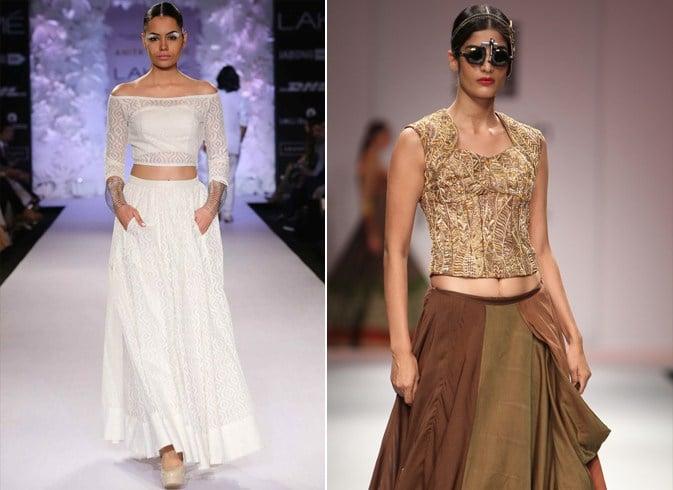 Ways To Style A Saree Blouse