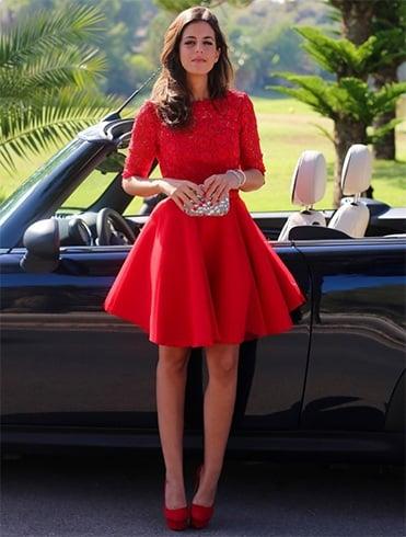 Ways To Wear Red Dress