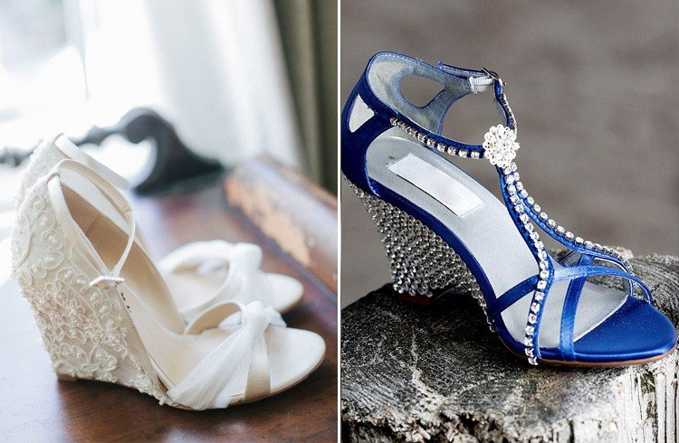Wedge Heels For Wedding