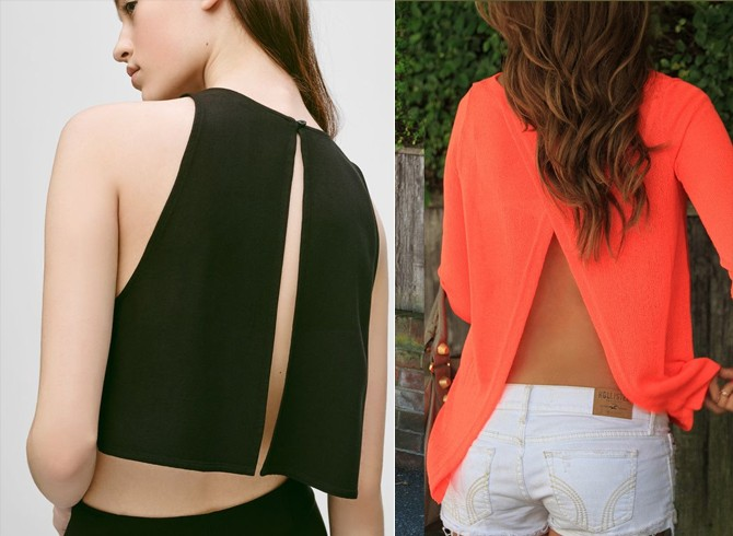 women backless workout tops