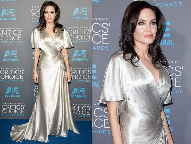 Angelina Jolie At Critics Choice Movie Awards