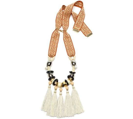 Aztec-Fringe Necklace