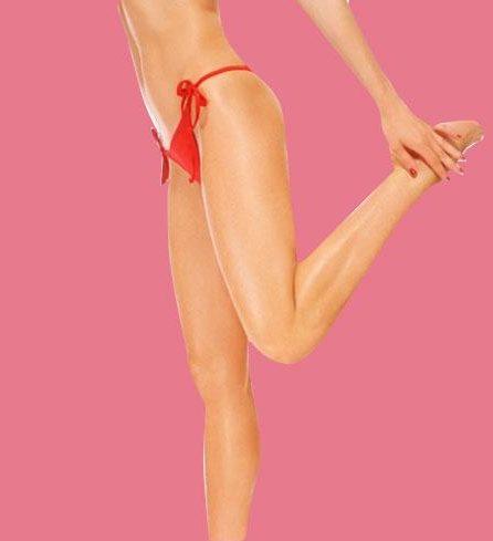 Bikini wax with natural