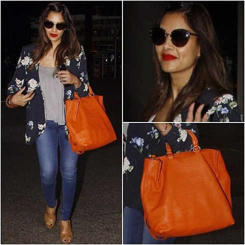 Bipasha Basu Airport Fashion