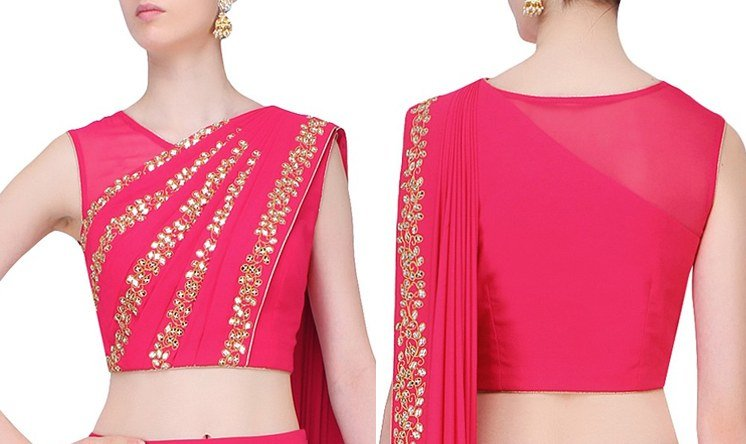 44 Types of Saree Blouse Designs And Patterns - Designer
